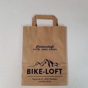 Papiertasche Bike Loft
