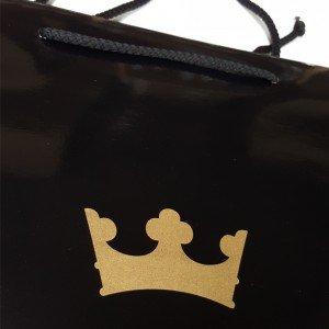 Papiertasche Golden Crown