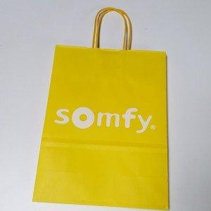 Papiertasche Somfy