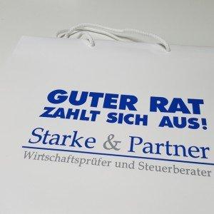 Papiertasche Starke & Partner