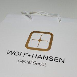 Papiertasche Wolf+Hansen