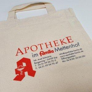 Beutel Stoff Apotheke Mettenhof