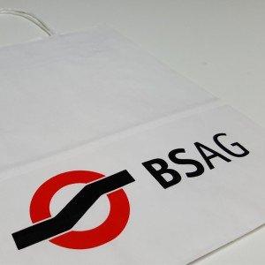 Papiertüte BSAG