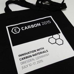 Baumwoll Stoff Beutel Carbon 2015
