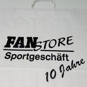 Papiertasche Fan Store