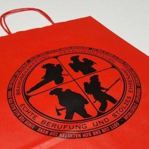 Papiertasche Firefighters
