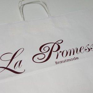 Papiertüte La Promesse