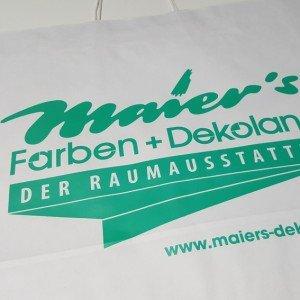 Papiertasche Maier's