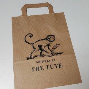 Papiertasche monkey 47