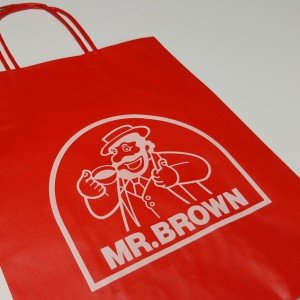 Papiertasche Mr.Brown