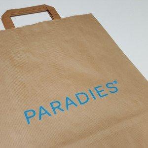 Papiertasche Paradies