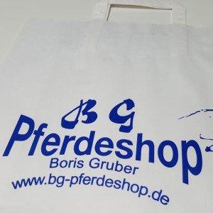Papiertasche BG Pferdeshop