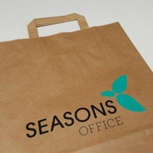 Papiertasche Seasons Office