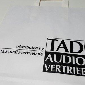 Papiertasche TAD Audio Vertrieb