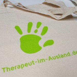 Baumwolltasche Therapeut Im Ausland