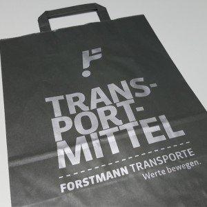 Papiertasche Transportmittel