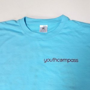 T-Shirt youth compass front