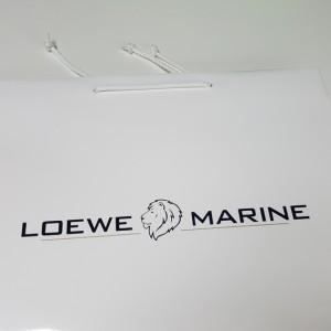 Papiertasche Loewe Marine
